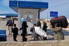 Πέρασμα Erez - Ισραήλ Στοκ Εικόνα