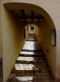 Πέρασμα, Finestrat, Κόστα Μπλάνκα, Ισπανία Στοκ φωτογραφίες με δικαίωμα ελεύθερης χρήσης