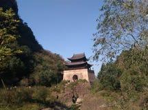 Πέρασμα Jianmen Στοκ Εικόνες
