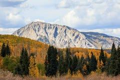 Πέρασμα Kebler - η φυσική ομορφιά των δύσκολων βουνών του Κολοράντο Στοκ φωτογραφίες με δικαίωμα ελεύθερης χρήσης