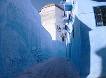 Πέρασμα Medina Chefchaouen Στοκ φωτογραφία με δικαίωμα ελεύθερης χρήσης