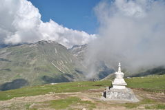 Πέρασμα Rohtang, Manali Himachal Pradesh Στοκ φωτογραφία με δικαίωμα ελεύθερης χρήσης