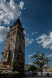 πέρα από μπροστινό βασιλιά εκκλησιών καθεδρικών ναών του Andrew τον προς τα πίσω μπαρόκ η Κρακοβία άφησε στο μνημείο της Magdalen στοκ εικόνα με δικαίωμα ελεύθερης χρήσης