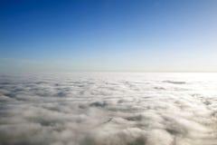 Πέρα από τα σύννεφα Στοκ εικόνες με δικαίωμα ελεύθερης χρήσης