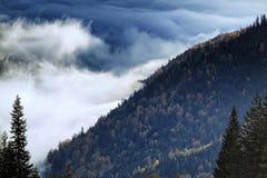 Πέρα από τα σύννεφα Στοκ Φωτογραφίες