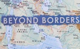 Πέρα από τα σύνορα στοκ εικόνες με δικαίωμα ελεύθερης χρήσης