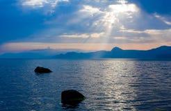 πέρα από την ηλιοφάνεια θάλα στοκ εικόνες με δικαίωμα ελεύθερης χρήσης