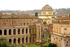 πέρα από την όψη της Ρώμης Στοκ Φωτογραφίες