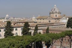 πέρα από την όψη της Ρώμης Στοκ εικόνα με δικαίωμα ελεύθερης χρήσης
