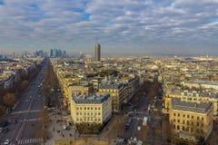 πέρα από την όψη του Παρισιού Στοκ φωτογραφία με δικαίωμα ελεύθερης χρήσης