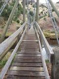 Πέρα από τη γέφυρα Στοκ φωτογραφίες με δικαίωμα ελεύθερης χρήσης