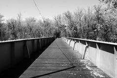Πέρα από τη γέφυρα Στοκ Εικόνα
