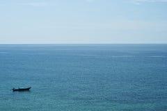 πέρα από τη θάλασσα Στοκ Εικόνες