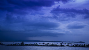 Πέρα από τον κόλπο του San Juan Στοκ Φωτογραφία
