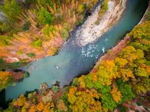 Πέρα από τον ποταμό στη Βουλγαρία Στοκ Εικόνες