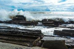 πέρα από τους βράχους Στοκ Εικόνα