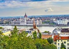 Πέρα από το Δούναβη Στοκ φωτογραφίες με δικαίωμα ελεύθερης χρήσης