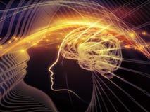 Πέρα από το μυαλό διανυσματική απεικόνιση
