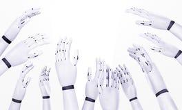 Πέρα από το τρέξιμο από τα ρομπότ Στοκ φωτογραφία με δικαίωμα ελεύθερης χρήσης