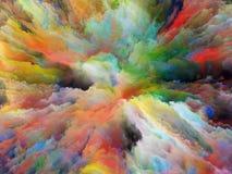 Πέρα από το υπερφυσικό χρώμα Στοκ φωτογραφία με δικαίωμα ελεύθερης χρήσης