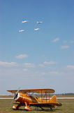 πέρα από το waco thunderbirds Στοκ φωτογραφία με δικαίωμα ελεύθερης χρήσης