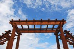 πέργκολα Στοκ εικόνα με δικαίωμα ελεύθερης χρήσης