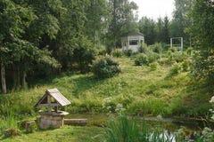 πέργκολα Στοκ φωτογραφία με δικαίωμα ελεύθερης χρήσης