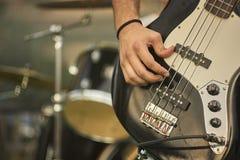 Πέρκες Acoustica Playng Στοκ εικόνες με δικαίωμα ελεύθερης χρήσης