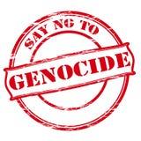 Πέστε το αριθ. στη γενοκτονία απεικόνιση αποθεμάτων