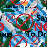 Πέστε το αριθ. στο άνευ ραφής σχέδιο φαρμάκων ελεύθερη απεικόνιση δικαιώματος