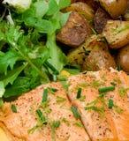 πέστροφα γευμάτων Στοκ φωτογραφία με δικαίωμα ελεύθερης χρήσης
