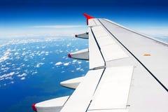 Πέταγμα αεροπλάνων Στοκ Εικόνα
