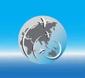 Πέταγμα αεροπλάνων ελεύθερη απεικόνιση δικαιώματος