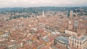 Πέταγμα επάνω από τις στέγες της Βερόνα φιλμ μικρού μήκους