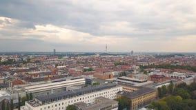 Πέταγμα επάνω από το Μόναχο απόθεμα βίντεο