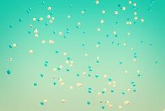 Πέταγμα θερινών μπαλονιών Στοκ Εικόνες