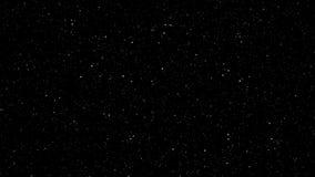 Πέταγμα μέσω των αστεριών διανυσματική απεικόνιση