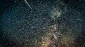 Πέταγμα μέσω των τομέων αστεριών στο διάστημα βακκινίων απεικόνιση αποθεμάτων