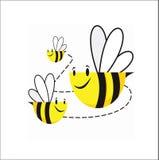 πέταγμα μελισσών Στοκ Εικόνες