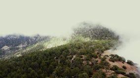 Πέταγμα πέρα από τα βουνά troodos Περιοχή της Λεμεσού, Κύπρος φιλμ μικρού μήκους