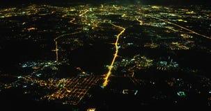 Πέταγμα πέρα από τη Μόσχα στη νύχτα φιλμ μικρού μήκους