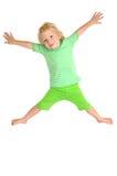 πέταγμα παιδιών Στοκ εικόνα με δικαίωμα ελεύθερης χρήσης