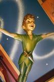 Πέταγμα του Peter Pan Στοκ φωτογραφία με δικαίωμα ελεύθερης χρήσης