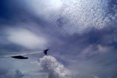 Πέταγμα υψηλό επάνω στον ουρανό Στοκ Εικόνες