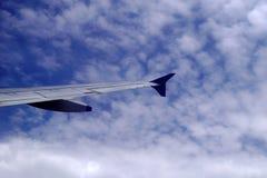 Πέταγμα υψηλό επάνω στον ουρανό Στοκ Φωτογραφία