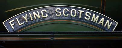 Πέταγμα Scotsman Στοκ εικόνες με δικαίωμα ελεύθερης χρήσης