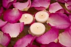 πέταλα κεριών Στοκ εικόνες με δικαίωμα ελεύθερης χρήσης