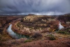 Πέταλο ποταμών Verde στοκ φωτογραφία