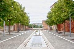 Πέταλο archs στο μέρος trebaille στην Άλβη Στοκ Εικόνα