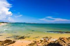 Πέτρα άμμου παραλιών θάλασσας στοκ εικόνες